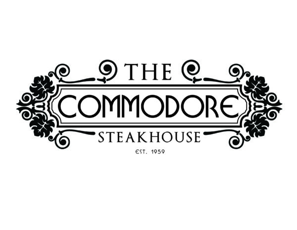 The Commodore Steakhouse logo.