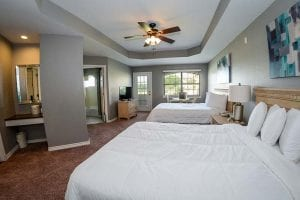Photo of a Guest Suite at Tanglewood Resort